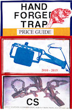 Hand Forged Trap Price Guide Front Cover