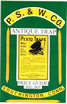 Peck Stow & Wilcox Co. Antique Trap Price Guide