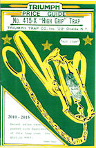 Triumph Trap Price Guide Front Cover